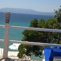 7/14/2013 tarihinde Ceren C.ziyaretçi tarafından Mukka Beach Club'de çekilen fotoğraf