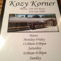 Photo taken at Kozy Corner by Mae C. on 11/10/2012