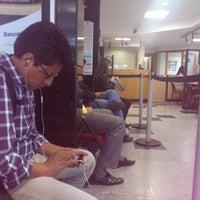 Photo taken at Bancolombia by Alejandra A. on 11/28/2012