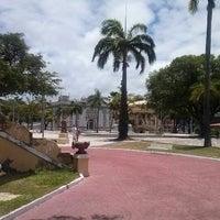 Photo taken at Praça Fausto Cardoso by Suzane C. on 2/11/2013