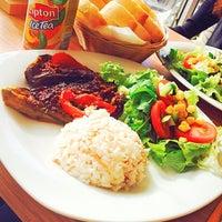 Photo taken at Kahve Devri Cafe & Restaurant by Merve A. on 11/7/2013