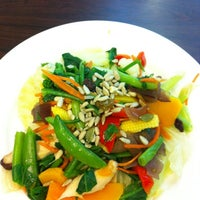 Photo taken at Vita Bella creative veg restaurant by Catherine T. on 9/17/2012