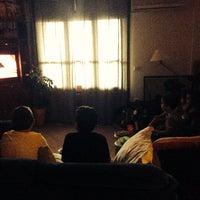 Photo taken at Lakki by Fragitsa C. on 7/18/2014