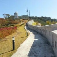 Photo taken at Seoul Namsan Fortress Wall Trail by Steven K. on 10/15/2012