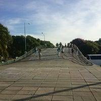 Photo taken at Abajo del Puente Av Figueroa Alcorta by Ce B. on 2/7/2013