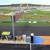 Photo taken at Circuit de la Comunitat Valenciana Ricardo Tormo by Goizalde H. on 11/10/2012