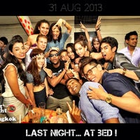 Photo taken at Bed Supperclub by ToEy™ Suwat W. on 9/2/2013