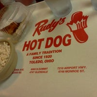 Photo taken at Rudy's Hot Dog by Linda O. on 12/16/2012