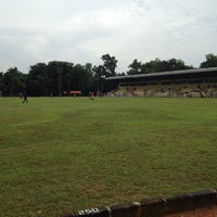 Photo taken at Stadion labda prakasa nirwakara by Shinta H. on 1/4/2014