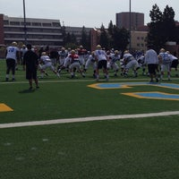 Photo taken at UCLA Spaulding Field by D on 4/19/2014
