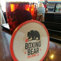 Photo taken at Boxing Bear Brewing Company by Kristin E. on 12/23/2017
