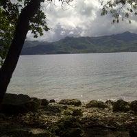 Photo taken at Pulau Dutungan by Ndeng Q. on 5/25/2013