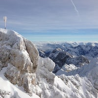 Photo taken at Zugspitze (2962m) by Kirill S. on 12/22/2012