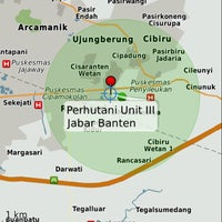 Photo taken at Perhutani Unit III Jabar & Banten by Luccy O. on 4/1/2013