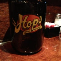 Photo taken at Hops Restaurant Bar & Brewery by Gene B. on 11/16/2012