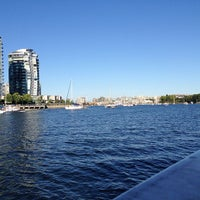 Photo taken at Aquabus Granville Island Dock by Marc S. on 7/14/2013