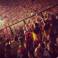 Photo taken at King Baudouin Stadium by Arnaud V. on 6/7/2013