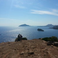 Photo taken at Cape Sounion by Nell N. on 5/15/2013