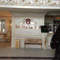 Снимок сделан в Geneva Royal Hotels & SPA Resorts пользователем Gisina S. 3/23/2013