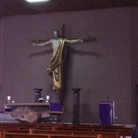 Photo taken at Templo de la Juventud San Juan Bosco by Raul P. on 2/17/2013