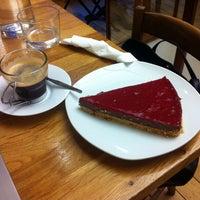 Photo taken at Flower's Café by Asma A. on 2/26/2015