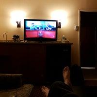 Photo taken at DoubleTree Suites by Hilton Hotel Mt. Laurel by Lorik B. on 4/4/2016