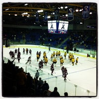 Photo taken at TD Bank Sports Center by Quinnipiac U. on 1/6/2013