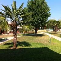 Photo taken at Hotel Bungalows ARIADNI by Dimitrios D. on 8/11/2013