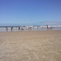 Photo taken at Praia Norte de Itapirubá by Ana Paula M. on 12/30/2012