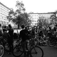 Das Foto wurde bei Critical Mass Berlin von Max G. am 4/25/2015 aufgenommen