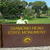 Photo taken at Diamond Head State Monument by Lisa O. on 4/14/2013