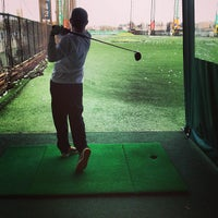Photo taken at The Golf Club at Chelsea Piers by Dev A. on 4/7/2013