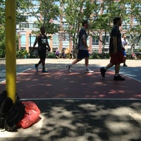 Photo taken at Chrystie St. Courts by Dev A. on 6/1/2013