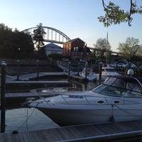 Photo taken at Chesapeake Inn Restaurant & Marina by Janet L. on 4/27/2013