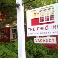 Photo taken at The Red Inn & Restaurant by Ehab J. on 6/5/2013