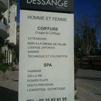 Photo taken at Dessange by FatimaZohra S. on 4/5/2013