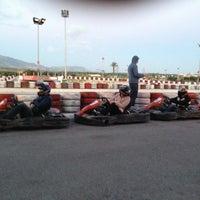 Photo taken at Cemsa Karting by Mert T. on 2/28/2013
