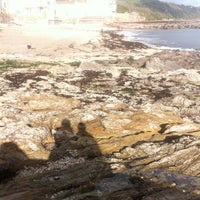 Photo taken at Kingsand Beach by Catherine M. on 11/4/2012