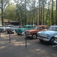 Photo taken at Отечественные ретро автомобили by Татьяна С. on 8/20/2014