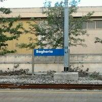 Photo taken at Stazione FS Bagheria by Alberto V. on 11/29/2012