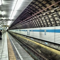 Photo taken at Kiba Station (T13) by dd_sn9 d. on 9/28/2013