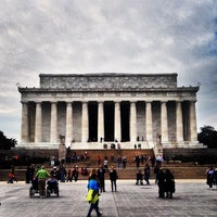 Photo taken at Lincoln Memorial by John B. on 11/4/2013