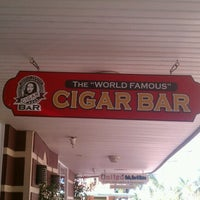 """Photo taken at The """"World Famous"""" Cigar Bar by Alan G. on 11/9/2012"""