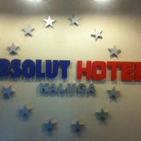 Photo taken at Absolut hotel by Zemtsovsky on 3/21/2013