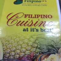 Photo taken at Nayong Filipino Saeed Restaurant & Bakery by Rsquared N. on 10/11/2014