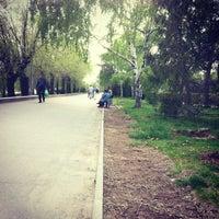 Photo taken at Парк Победы (на ул. им. Чуйкова) by БрюNetочка on 5/3/2013