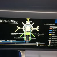 Photo taken at SFO AirTrain by Christina H. on 9/25/2012