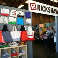 Photo taken at Rickshaw Bagworks by Christina H. on 4/10/2013