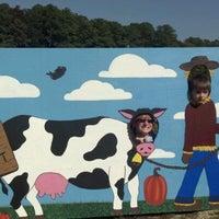 Photo taken at Adkin's Farm Corn Maze by Wendi L. on 10/20/2012