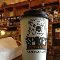 Photo taken at Spike's Coffee & Tea by Daniel E. on 4/11/2013